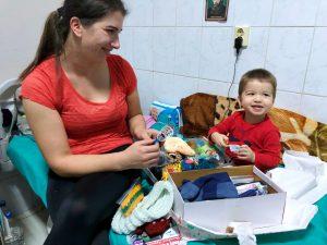 Link to Hope Shoebox Appeal - Hospital