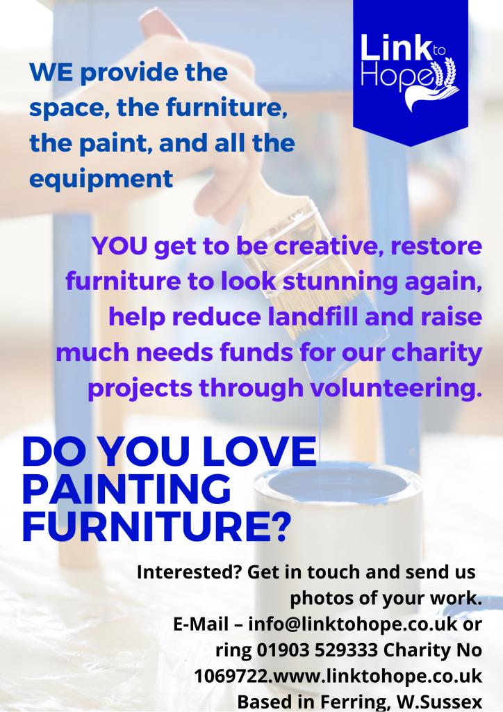 Link to Hope Painted Furniture Volunteer
