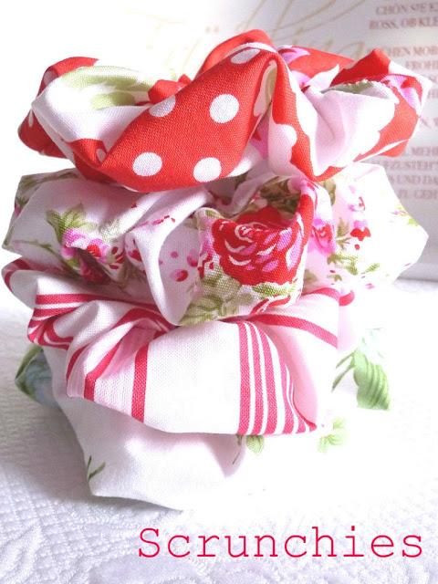 Fabric Scrunchies 1