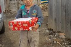 receiving a shoebox